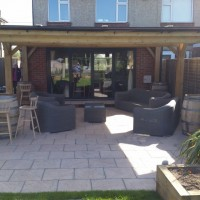 Home project patio