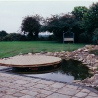 large landscaping project